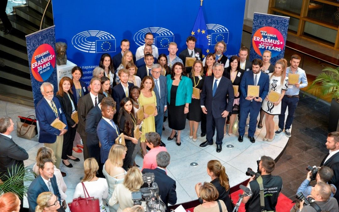 Erasmus program: celebrating 30 years and 9 million participants!