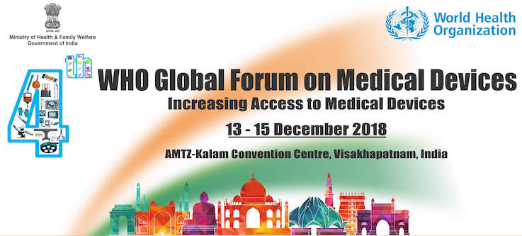 4th WHO Global Forum on Medical Devices
