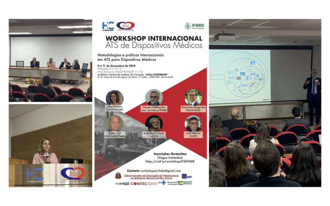 Summary: 1st International Workshop on Medical Device Assessments in São Paulo, Brazil on December 9-11, 2019